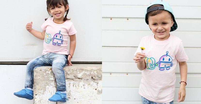 Ropa sin género para niños