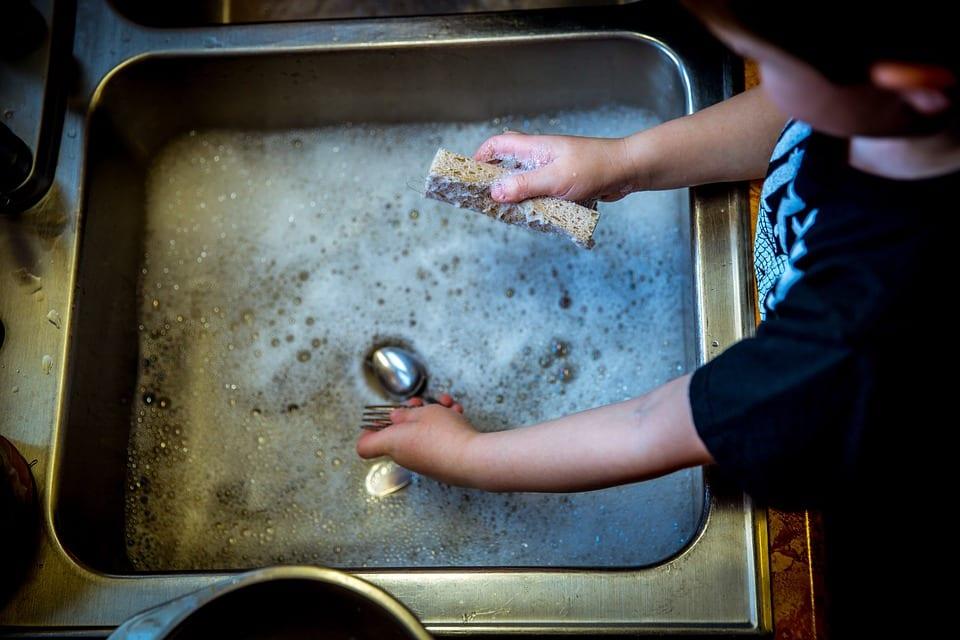 tareas hogar para niños