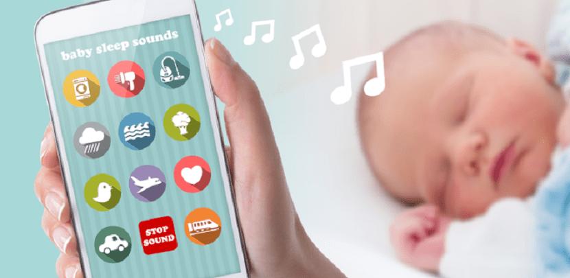 Aplicaciones con ruido blanco para bebés