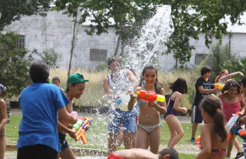Batalla de agua