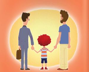 Familia de dos padres