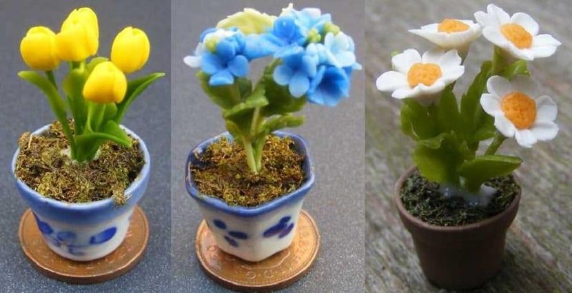 Flores para una casa de muñecas