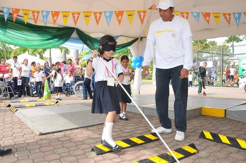 Juegos para niños sordociegos