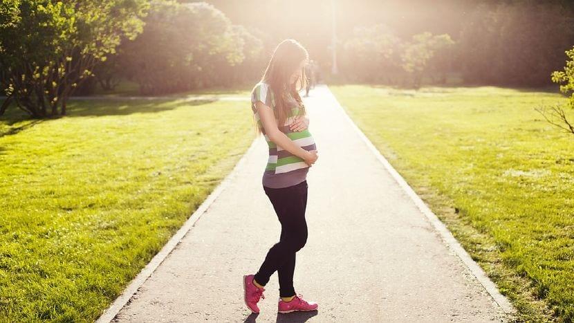 barriga embarazo mes a mes