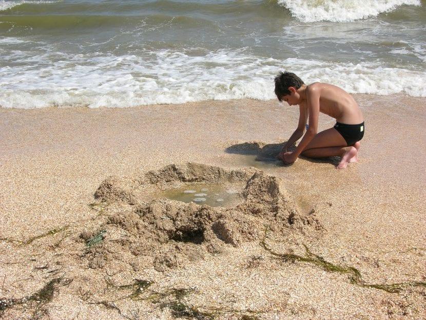 Disfrutar de la playa con niños