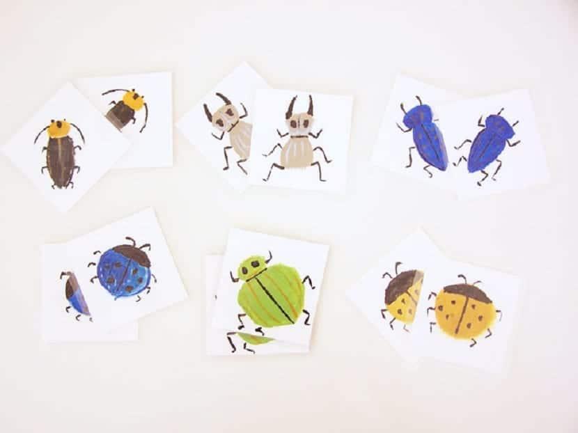 Memory game de insectos