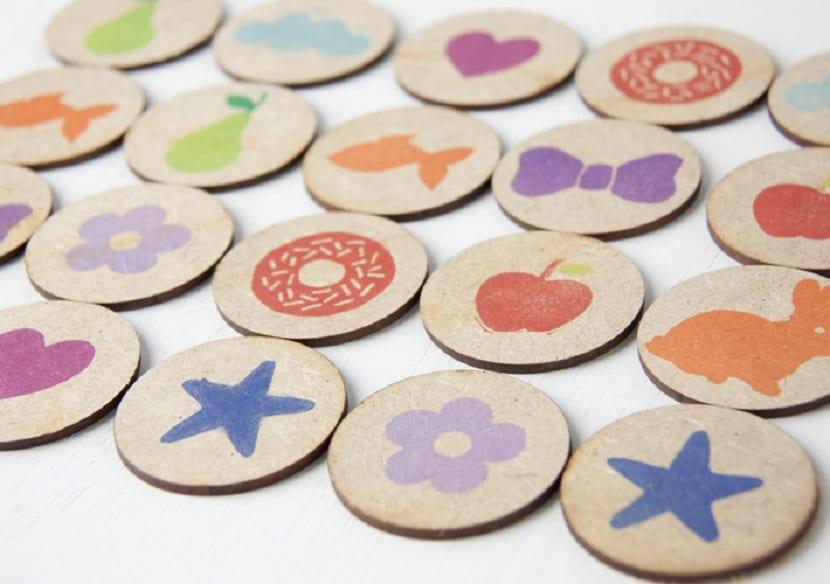 Memory game de madera