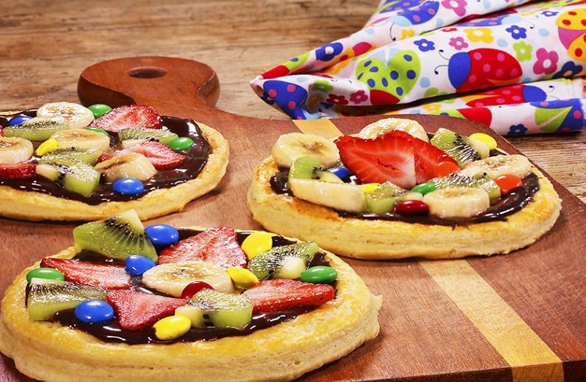 Pizzetas dulces