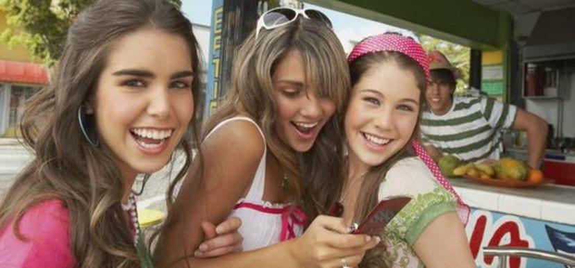 Adolescentes de vacaciones