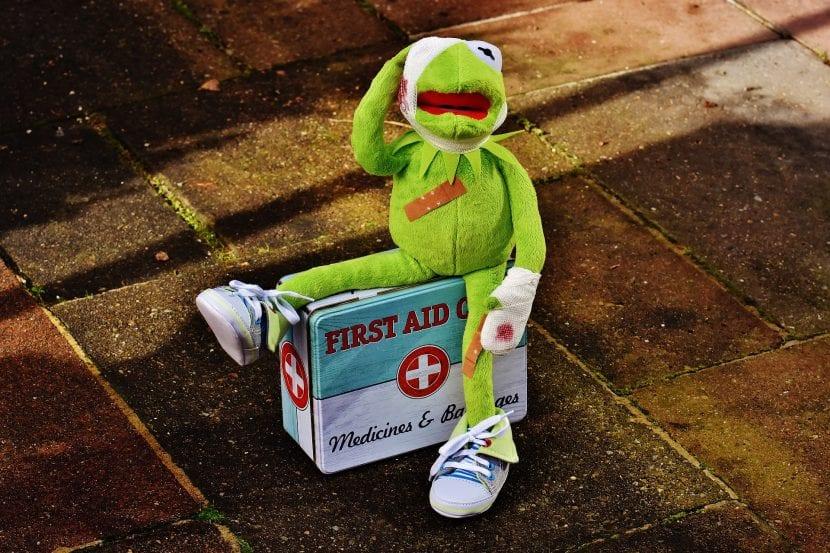Botiquín de primeros auxilios para niños