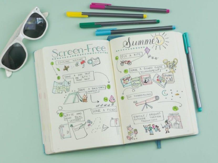 Bullet Journal para niños