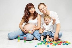 Familia segundo embarazo