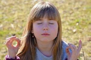 meditación niños