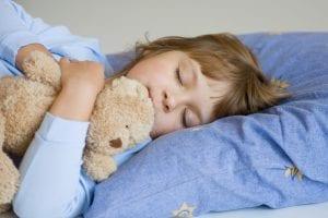 nena que está durmiendo