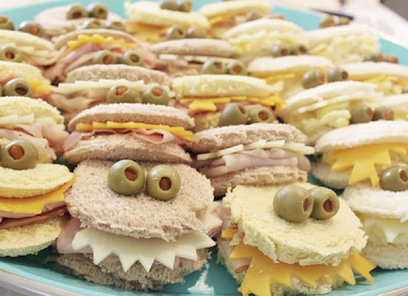 Sandwich monstruoso