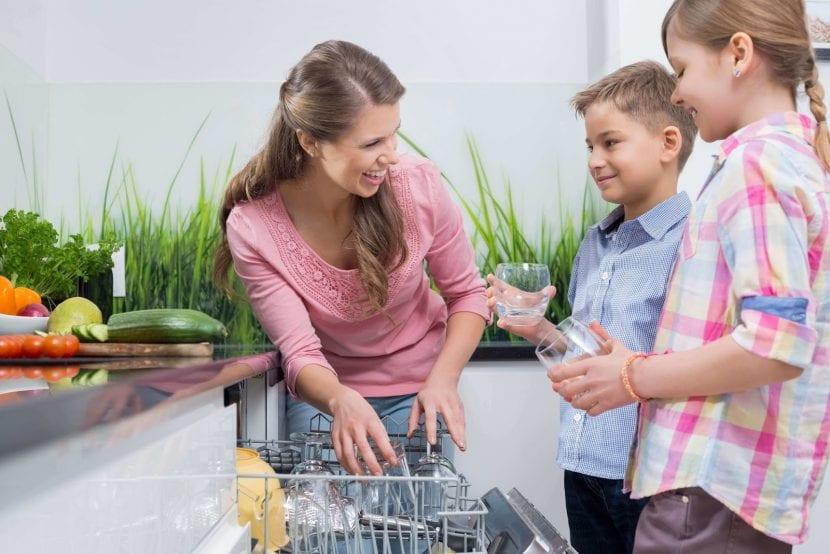 tareas domésticas para los hijos