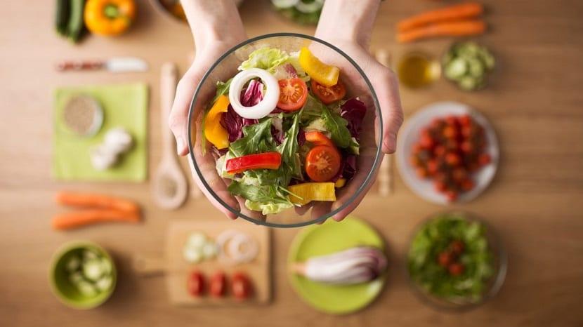 Bol con verduras