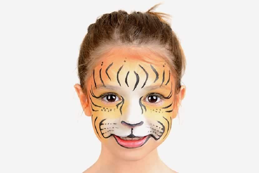 Maquillaje de tigresa