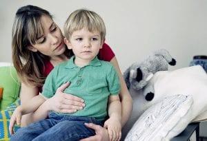 Niño con intolerancia al gluten