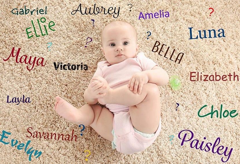 Nombres de niña