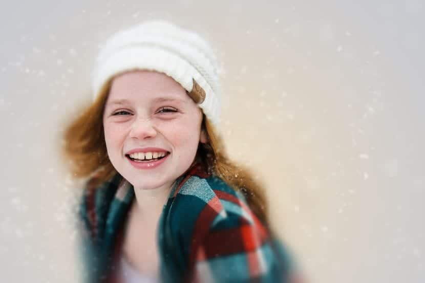 sonrisa niños