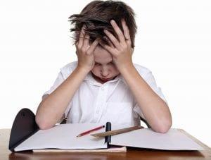 Trastornos del aprendizaje en la escuela