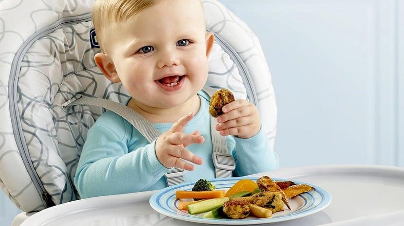 Alimentación para bebés BLW