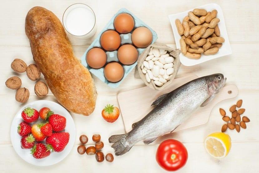 Alimentos potencialmente alérgenos