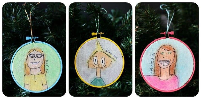 Bolas DIY para el árbol de Navidad
