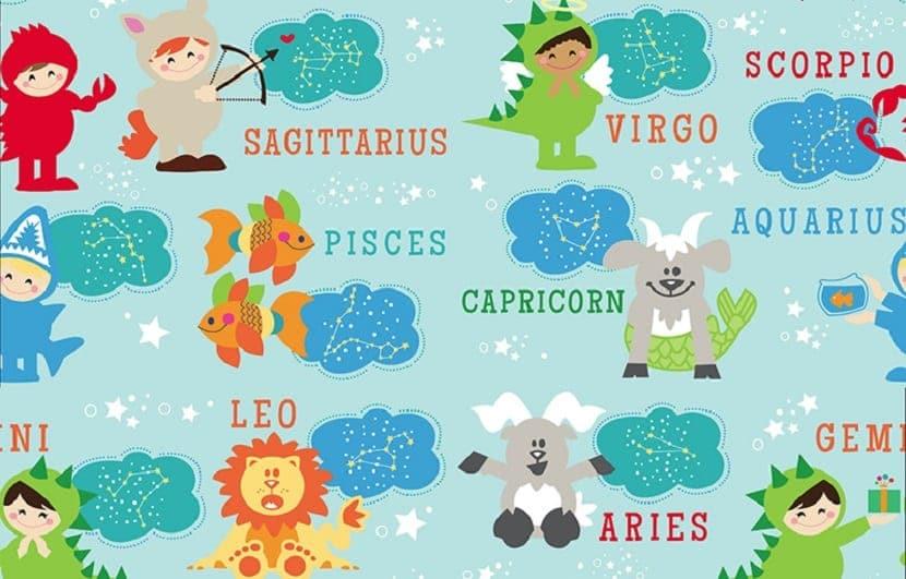 Signos del zodiaco para bebés