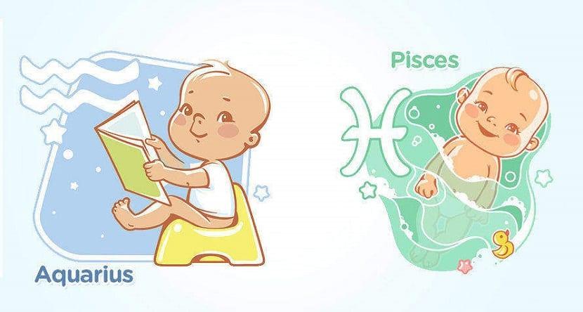 El horóscopo de los bebés