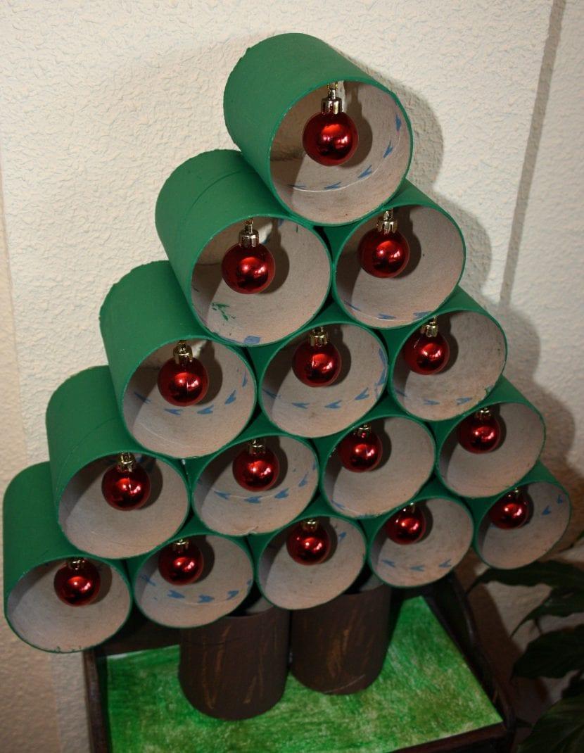 Manualidades árbol de navidad