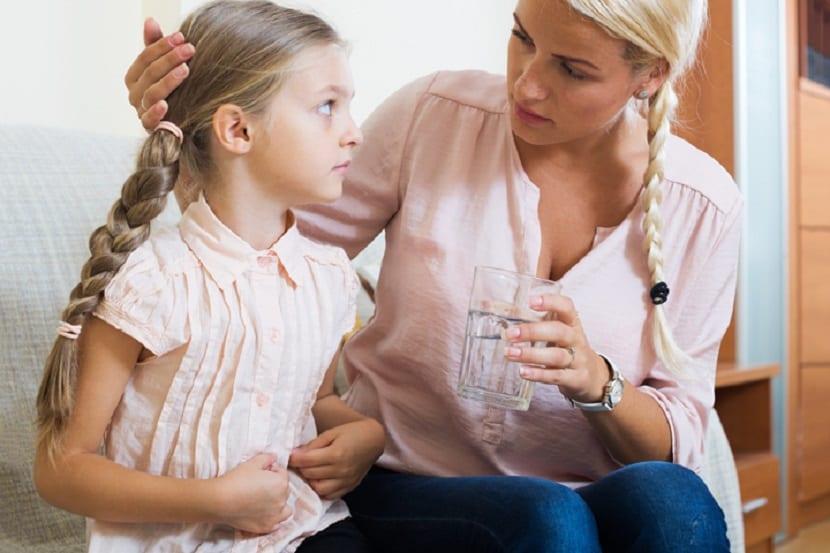 Dolor de estómago en niños