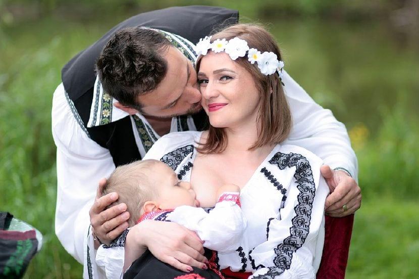 padres lactancia