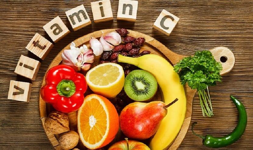 Alimentos con vitamina C