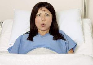 Controlar la respiración en el parto