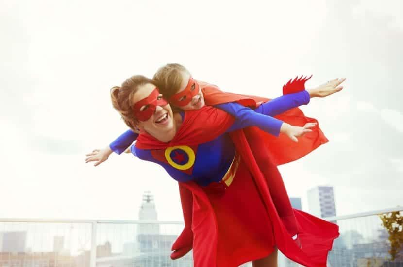 mama es una superheroe