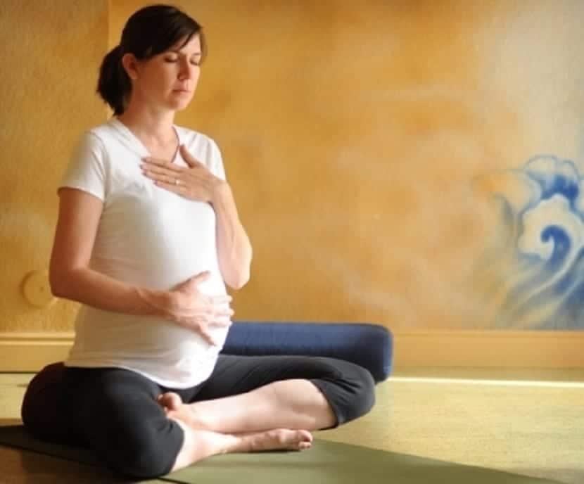 Técnicas de respiración para embarazadas