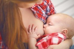Bebé lactante