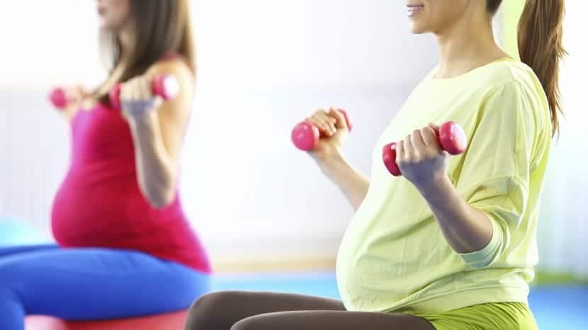 El ejercicio durante el embarazo
