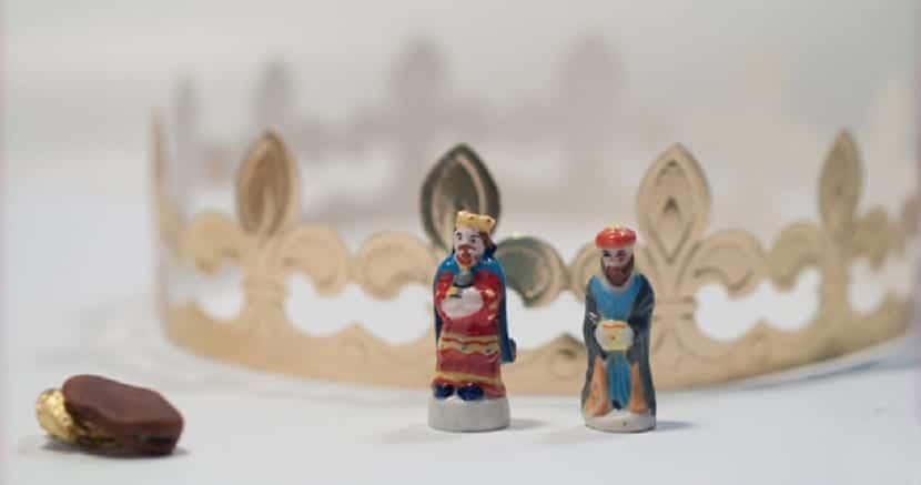 figuritas del roscón de Reyes