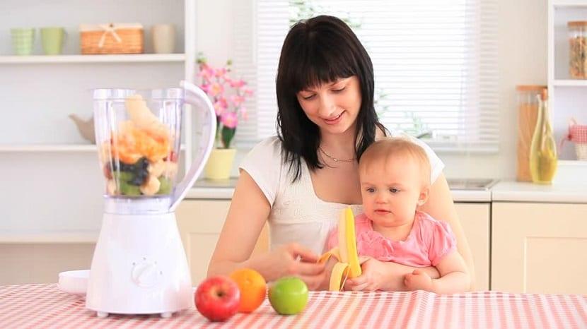 La alimentación durante la lactancia materna