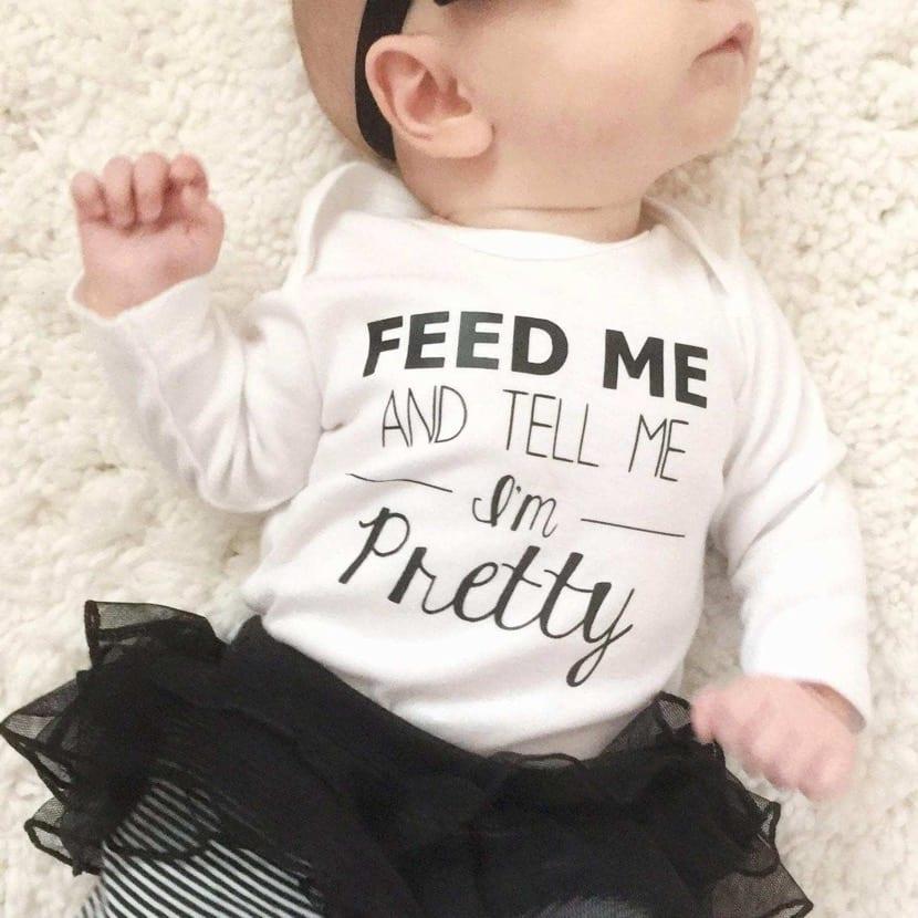 foto de bebe preciosa