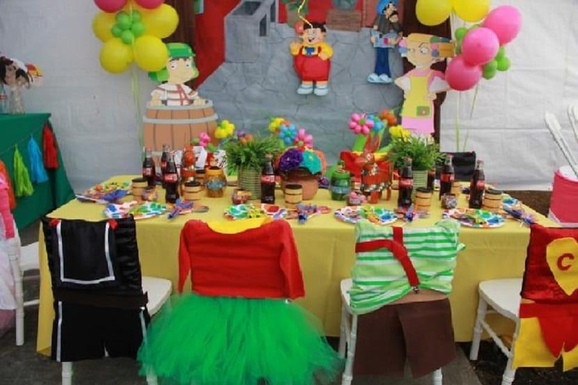 Decoración de una fiesta infantil