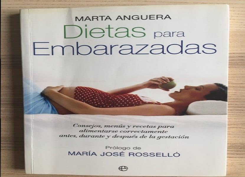 Portada del libro Dietas para embarazadas