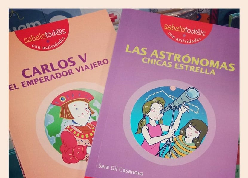 Portada del libro Las astrónomas: chicas estrella