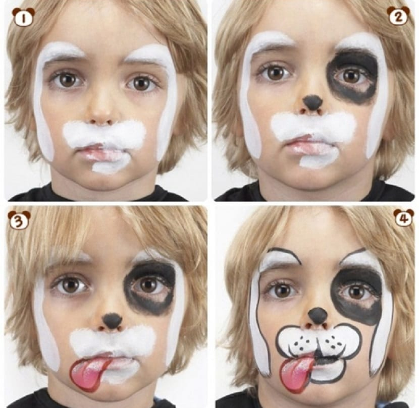 Maquillaje de perrito carnaval