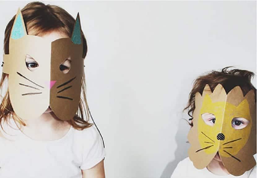 Máscara de papel