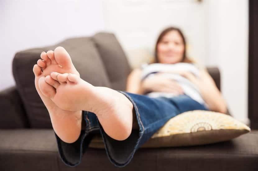 Prevenir la retención de líquidos en el embarazo
