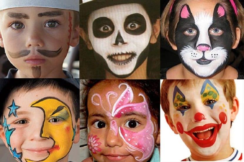 Pintacaras carnaval